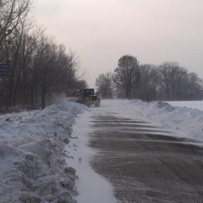 Winter in Babót 2013